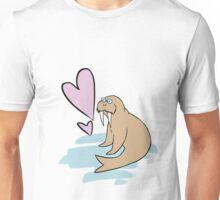 Hippy Love Walrus Unisex T-Shirt