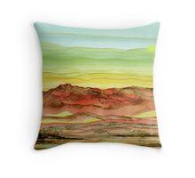 Desert Landscape of Natural Wonders Throw Pillow