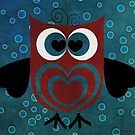 HOO Loves You by Elizabeth Burton