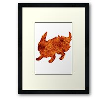 Flareon used Flamethrower Framed Print