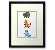 Starters Elements Framed Print
