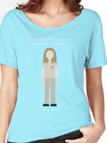 """Nicky Nichols: """"Shit Cake"""" Women's Relaxed Fit T-Shirt"""