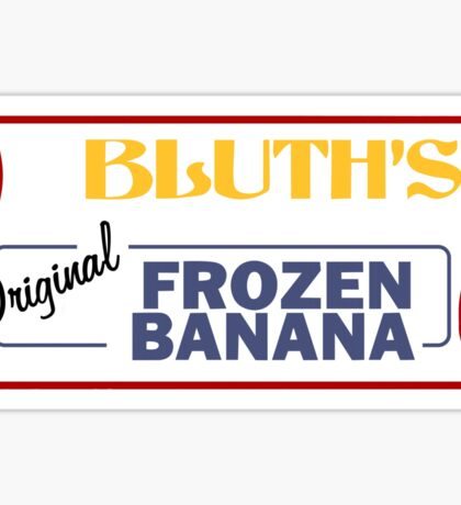 Bluth's Banana Stand Sticker