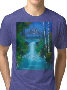 Blue Waterfalls Tri-blend T-Shirt