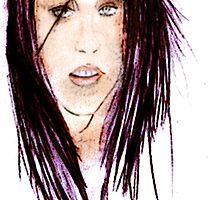 Kristen Stewart (Bella Swan) Poster by Daniel  Taylor