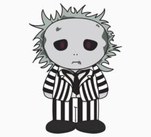 BeetleJuice MiniFolk Sticker by dangerliam