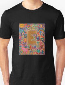 Initial E Unisex T-Shirt