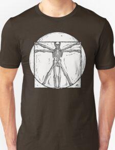 Vitruvian Skeleton T-Shirt
