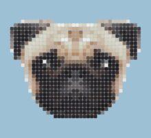Pug Tile by Alan Wigg