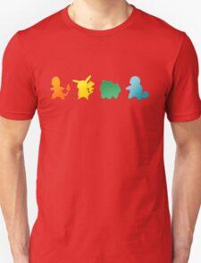 Pokemon Classic Starters - Option 2 T-Shirt