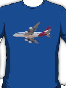 Qantas Airbus A380 plane T-Shirt