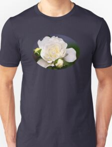 Fresh White Rose T-Shirt