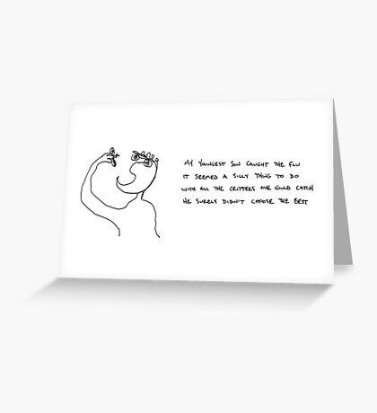 flu  Greeting Card