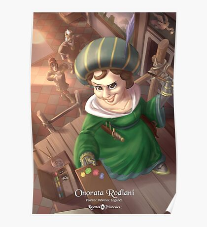 Onorata Rodiani - Rejected Princesses Poster