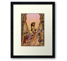 Zenobia - Rejected Princesses Framed Print