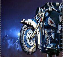 FRONT HALF MOTORCYCLE IPAD CASE by ✿✿ Bonita ✿✿ ђєℓℓσ