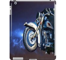 FRONT HALF MOTORCYCLE IPAD CASE iPad Case/Skin