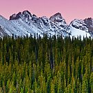 The Morning Range by John  De Bord Photography