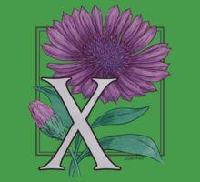 X is for Xeranthemum Baby Tee