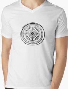 Jet engine Mens V-Neck T-Shirt