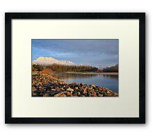 Skykomish River, Washington State Framed Print