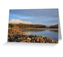 Skykomish River, Washington State Greeting Card