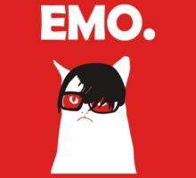 Emo Grumpy Cat by jezkemp