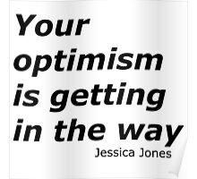 Optimism and Jessica Poster
