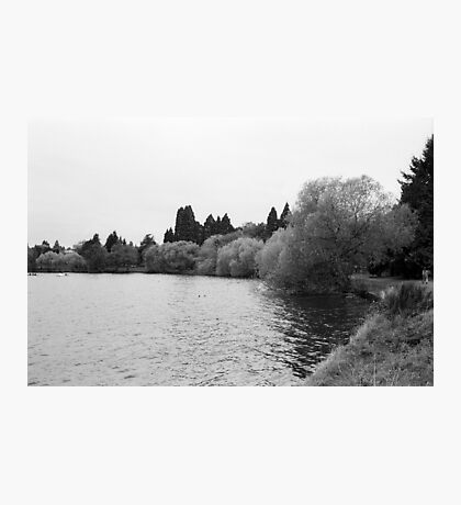 Green Lake, Fall, Seattle, Washington Photographic Print