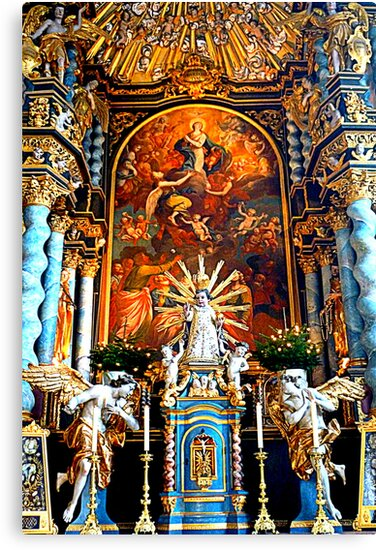 High Altar Pilgrimage Church Hohenpeissenberg by ©The Creative  Minds