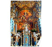 High Altar Pilgrimage Church Hohenpeissenberg Poster