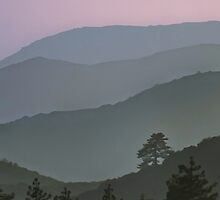 Mountain Sunset by donnarebecca