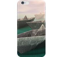 Paper Boats iPhone Case/Skin