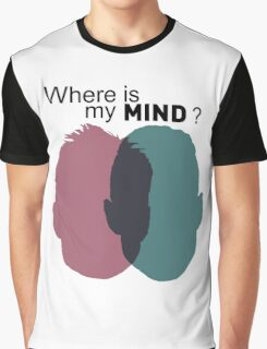 Where is my mind ? - Mr Robot Graphic T-Shirt