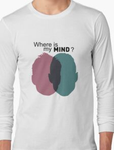 Where is my mind ? - Mr Robot Long Sleeve T-Shirt