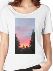 Sunset in the Suburbs  Women's Relaxed Fit T-Shirt