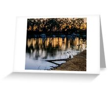 Cobram Barooga's Houseboats Greeting Card