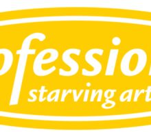 Professional Starving Artist Sticker