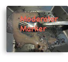 Moderator Marker Canvas Print