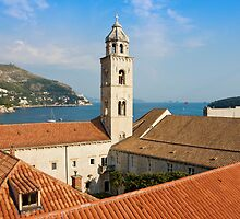 The Dominican Monastery in Dubrovnik by kirilart