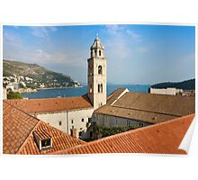 The Dominican Monastery in Dubrovnik Poster