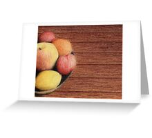 Bowl of Fruit Greeting Card