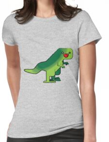 Toothy Womens Fitted T-Shirt