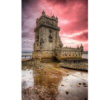 Torre de Belem Lisboa Photographic Print