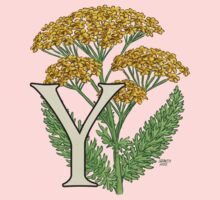 Y is for Yarrow floating One Piece - Long Sleeve