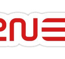 2NE1 Red Logo Sticker