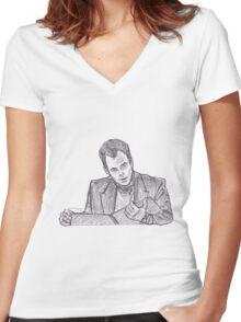GOB Women's Fitted V-Neck T-Shirt