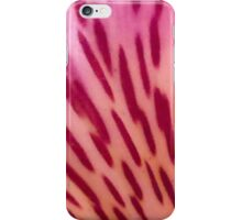 Pink, Yellow And Red Flower Petal iPhone Case/Skin