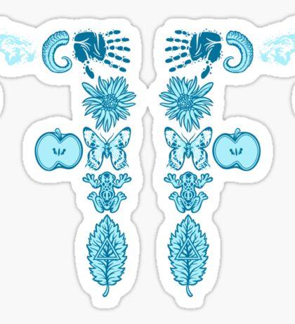 GLYPH DIVISION Sticker