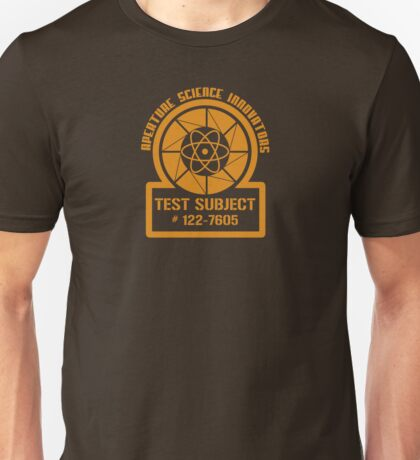 Test Subject Unisex T-Shirt
